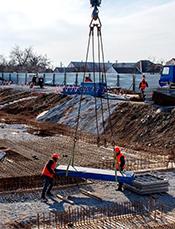 Начат основной этап строительства первого в Украине многоквартирного дома из стали