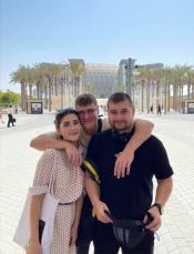 Призеры конкурса Steel Freedom 2020 и куратор посетили самое масштабное Expo 2020 Dubai